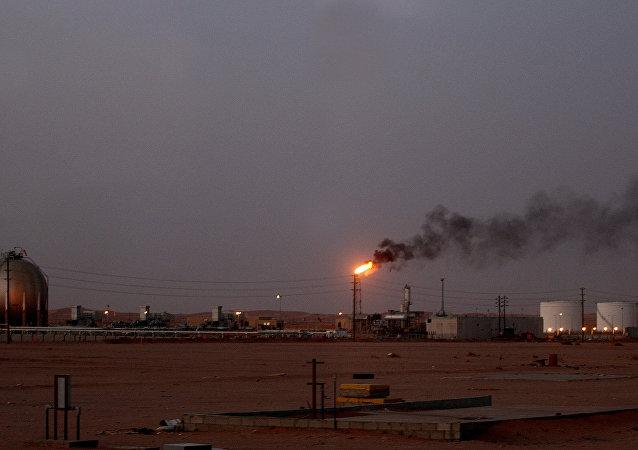 Installation de Saudi Aramco