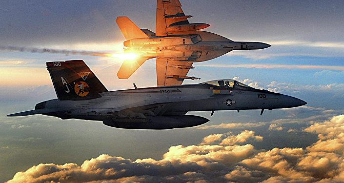 Une patrouille américaine dans le ciel afghan