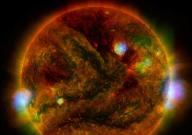 Eruptions solaires
