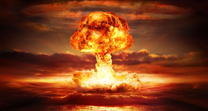 Explosion d'une bombe nucléaire