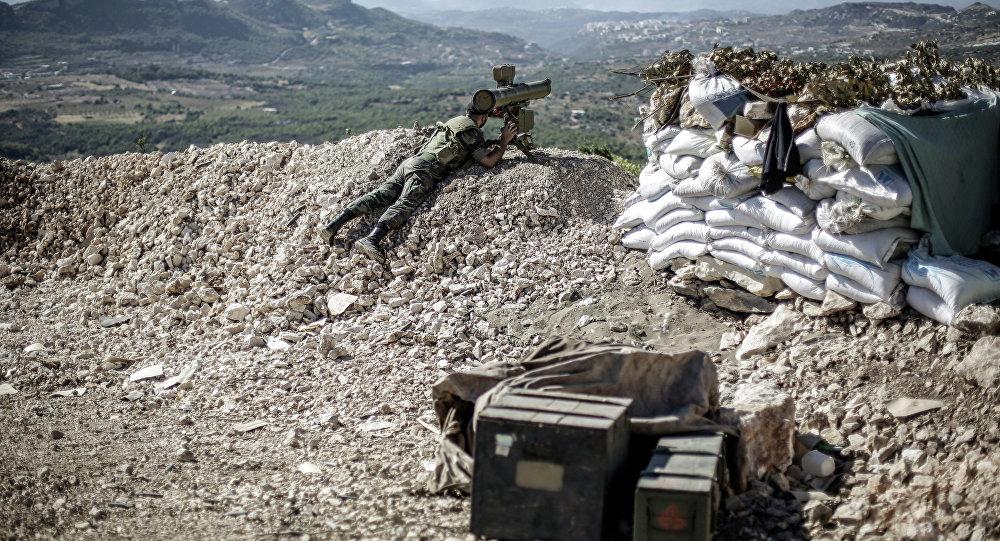 Un soldat des forces gouvernementales en Syrie