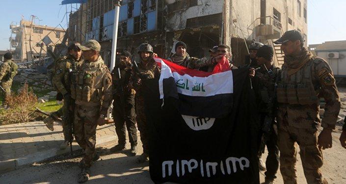 Les forces de sécurité irakiennes