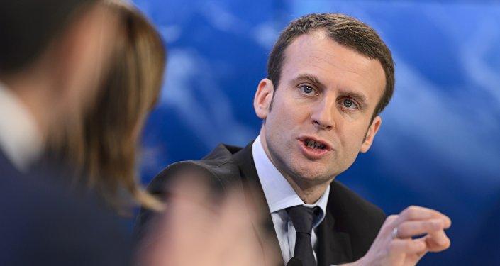 Emmanuel Macron. Archive photo
