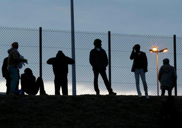 Migrants, Calais, juillet 2015