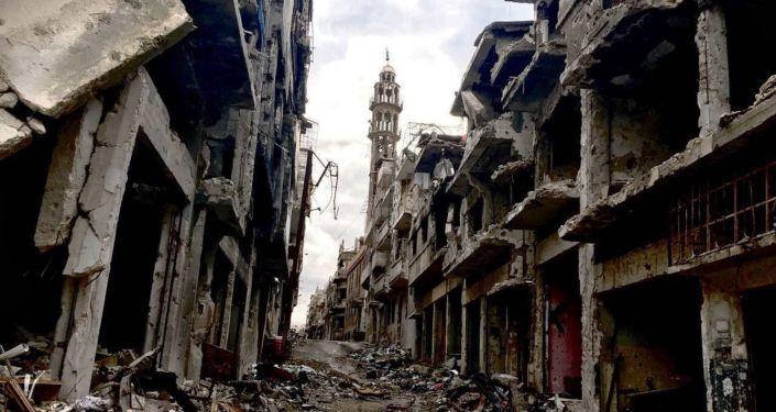 Homs en Syrie: la ville fantôme