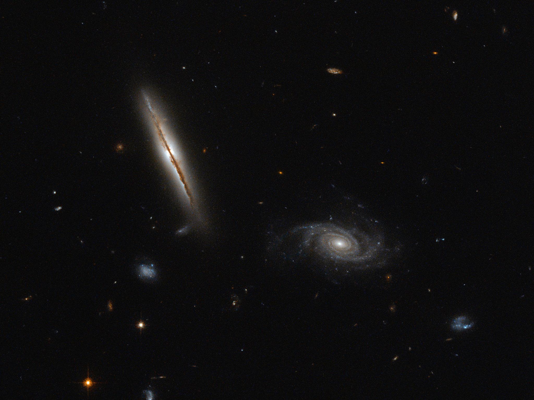 Le télescope Hubble a pris des photos d'une galaxie extraordinaire
