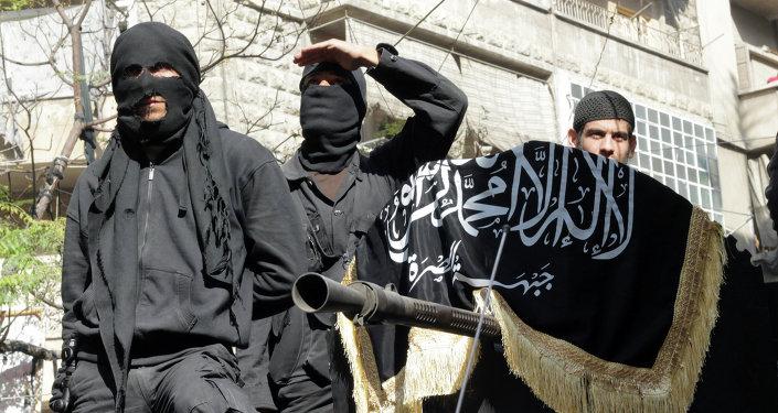 Membres du groupe Al-Nosra