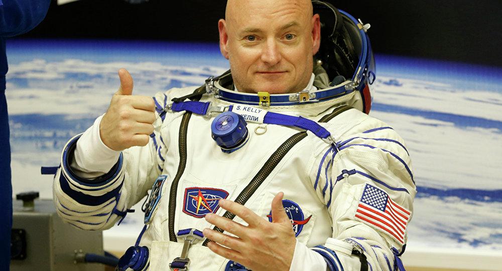 L'astronaute américain Scott Kelly