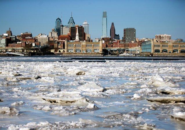 Le Delaware à Philadelphie