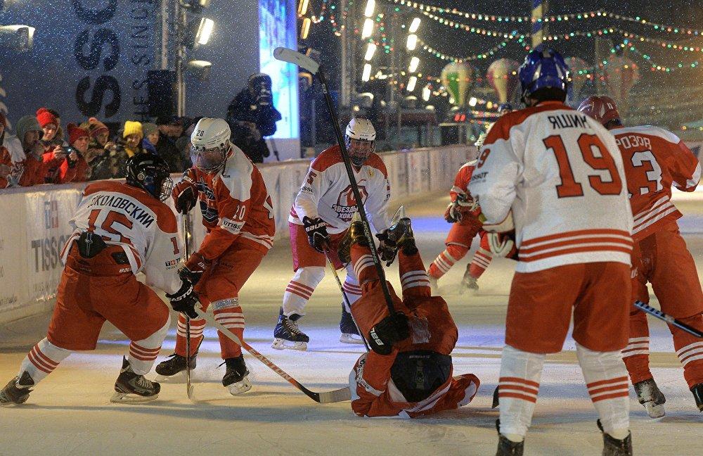 100 jours avant la coupe du monde de hockey sur glace en Russie