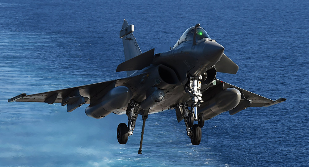 La France change de tactique en Belgique — Rafale