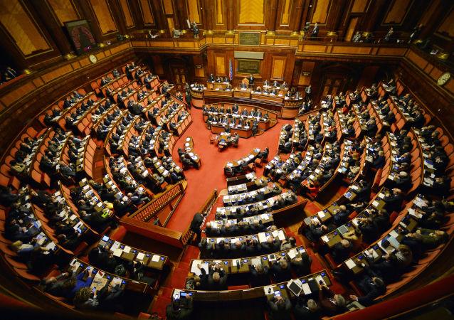 Le Sénat italien