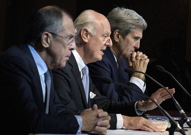 Négociations sur la Syrie