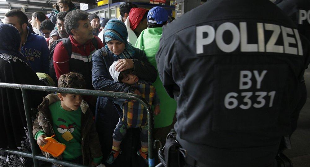 Réfugiés arrivés à Munich