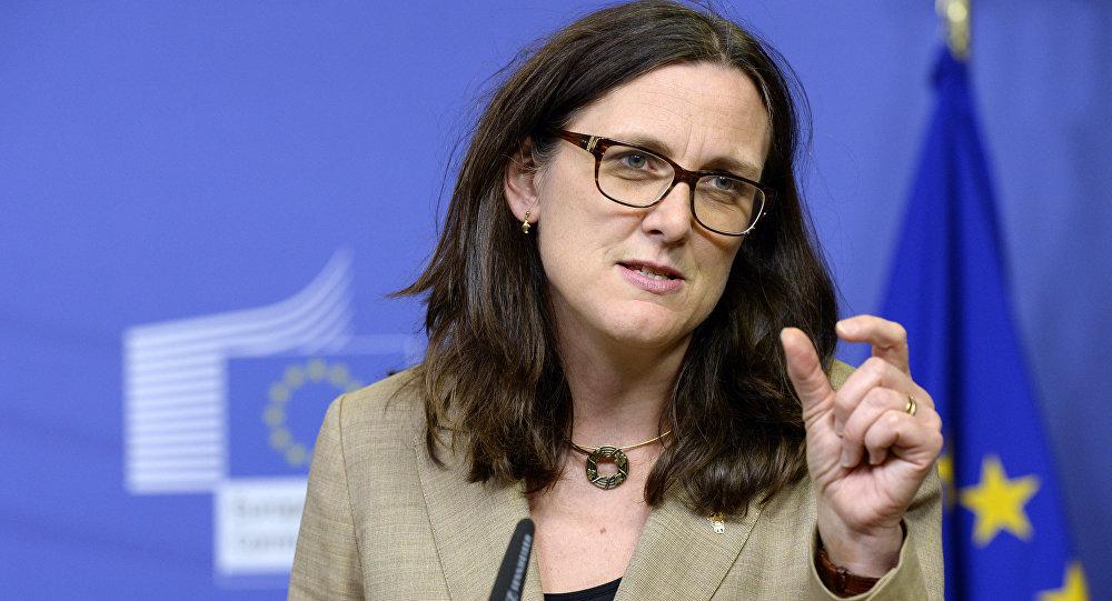 L'UE a répliqué — Taxes sur l'acier
