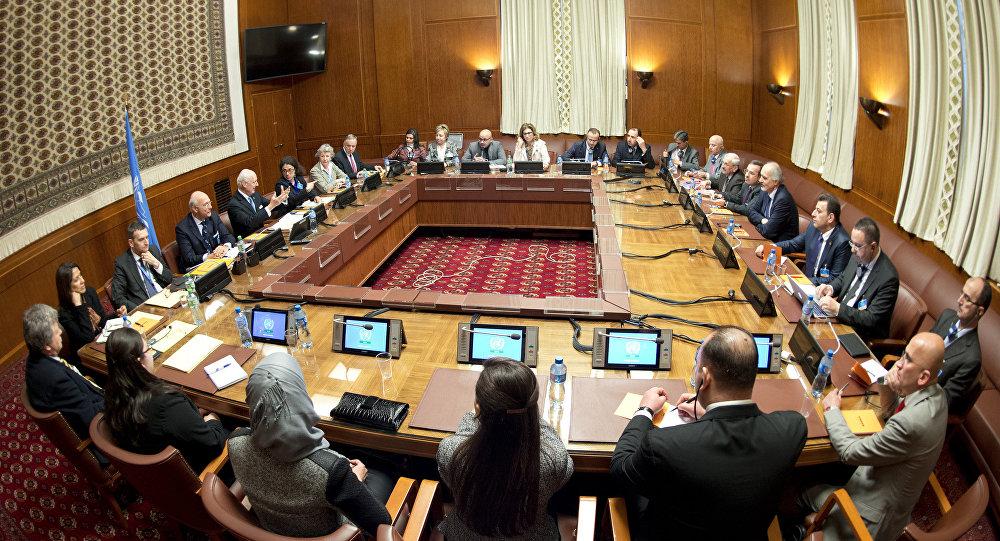 Les pourparlers de Genève sur la Syrie, le 29 janvier 2016
