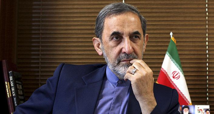 Ali Akbar Velayati, conseiller diplomatique de l'ayatollah Ali Khamenei