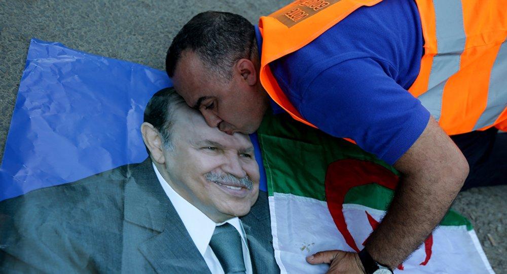 Portrait de Abdelaziz Bouteflika. Photo d'archive
