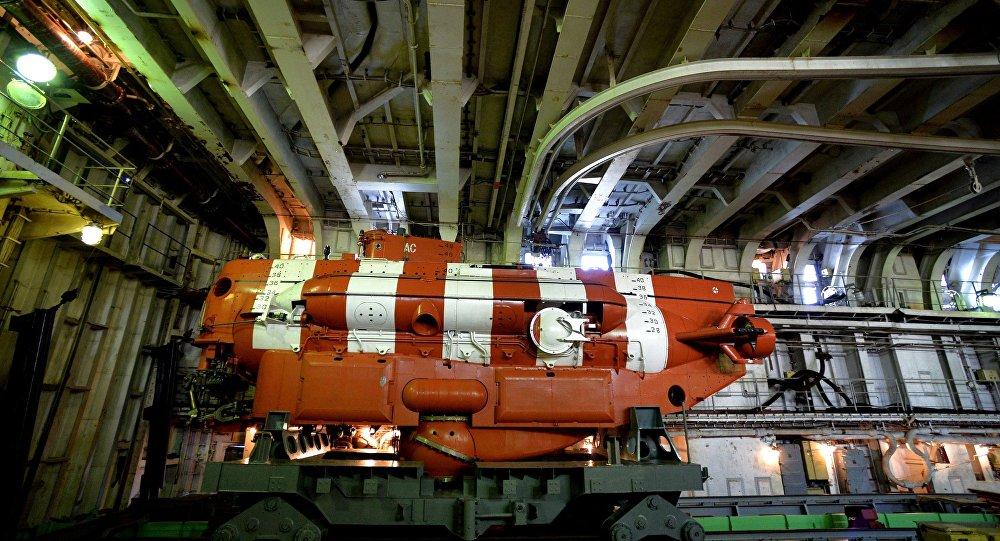 Un appareil sous-marin de sauvetage