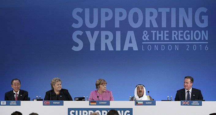Syrie : les pays donateurs réunis à Londres pour lever des fonds