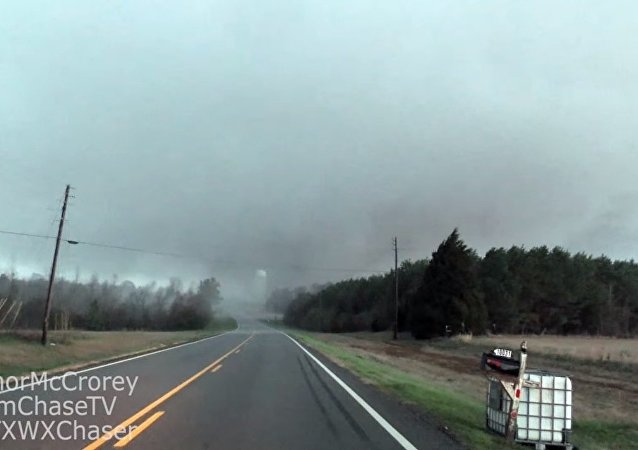 Un ouragan en Alabama
