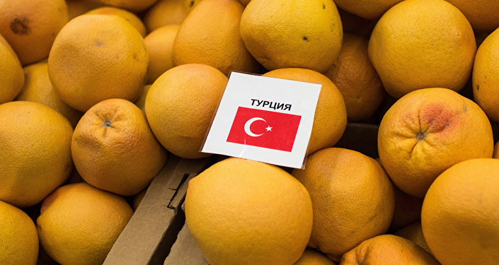 sanctions introduites par Moscou contre Ankara
