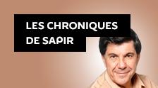 Les chroniques de Sapir