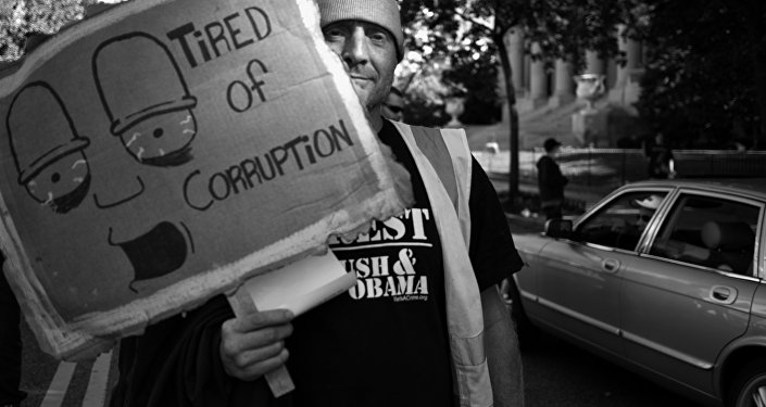 Tired of Corruption