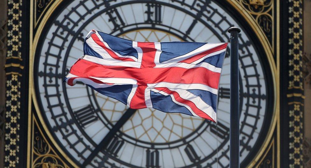 Le drapeau de la Grande-Bretagne