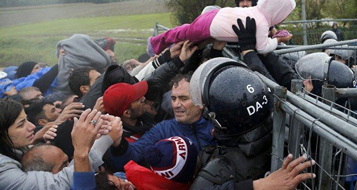 Zahl der Flüchtlinge im Steigen begriffen