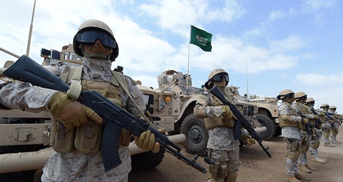 Forces spéciales saoudites. Archive photo