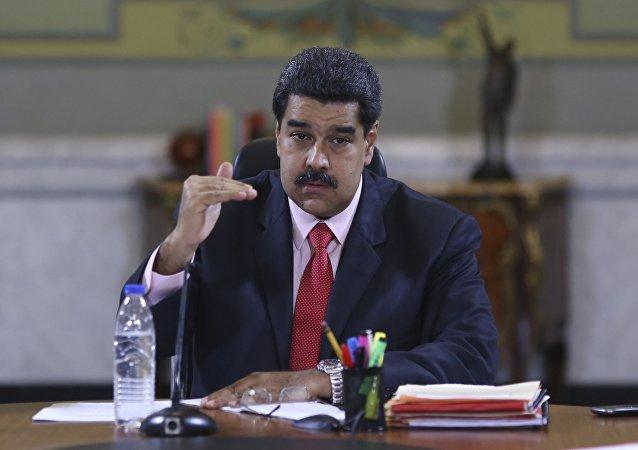 Le président vénézuélien Nicolas Maduro