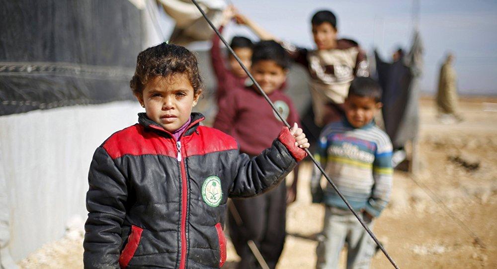 Zaatari, camp jordanien de réfugiés