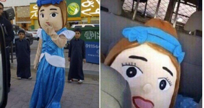 La police de la moralité saoudienne interpelle une mascotte