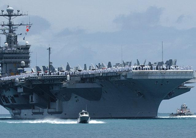 The USS John C. Stennis