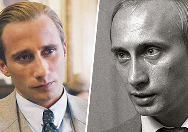 Matthias Schoenaerts et Vladimir Putin