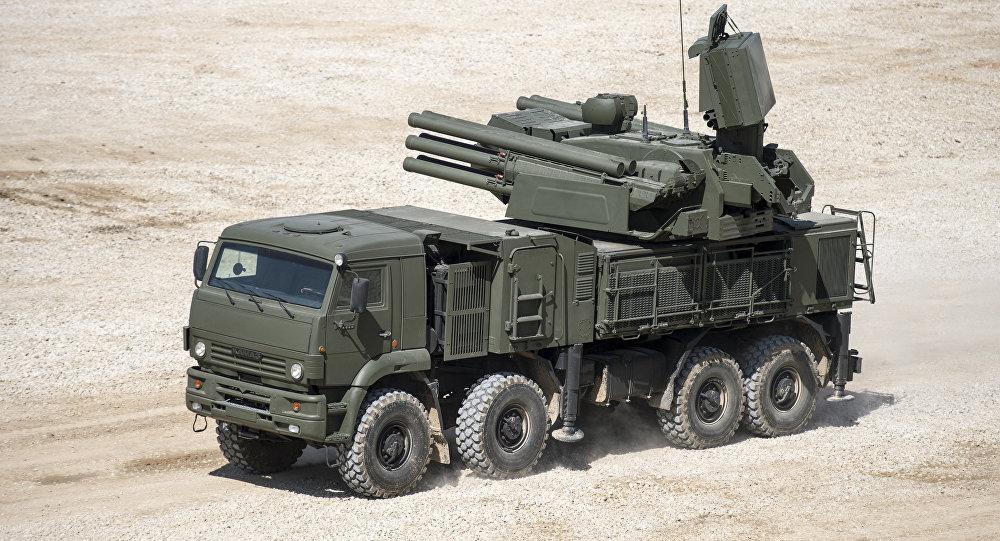 Le complexe antiaérien russe Pantsir S-1