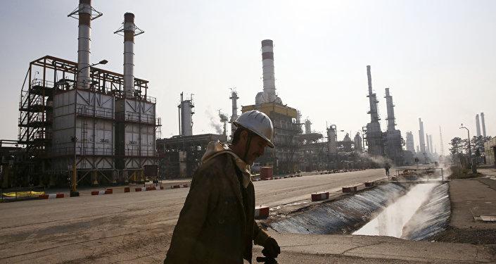 L'industrie pétrolière iranienne
