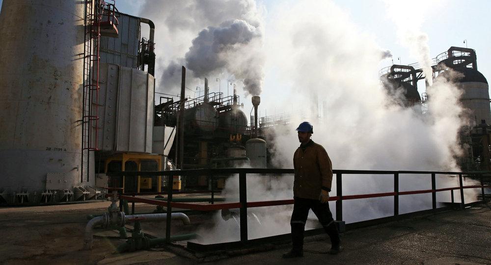 Raffinerie à Téhéran