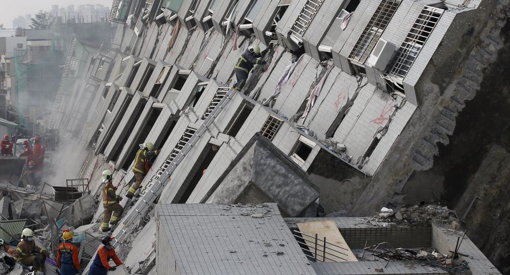 Conséquences du séisme de Taïwan