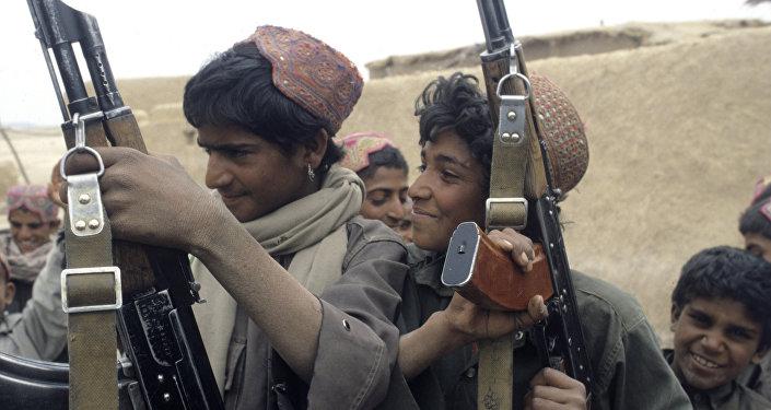 Enfants soldats en Afghanistan