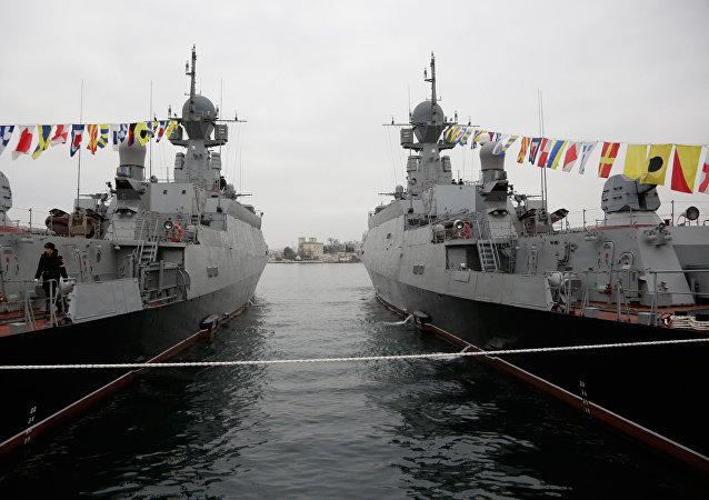 La Russie lance des manœuvres dans la Méditerranée