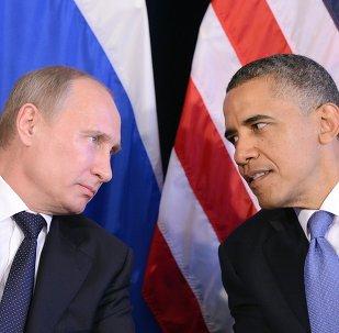 Les présidents russe et américain, Vladimir Poutine et Barack Obama