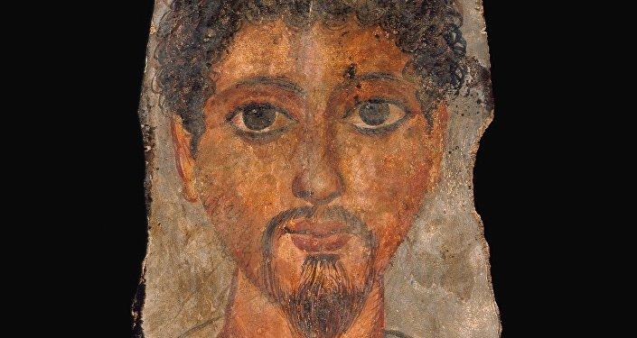 Portrait funéraire du Fayoum