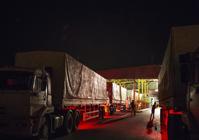 Le blocus des camions russes en Ukraine maintenant officiel