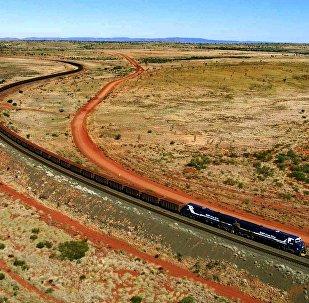 Train en Australie (photo d'illustration)