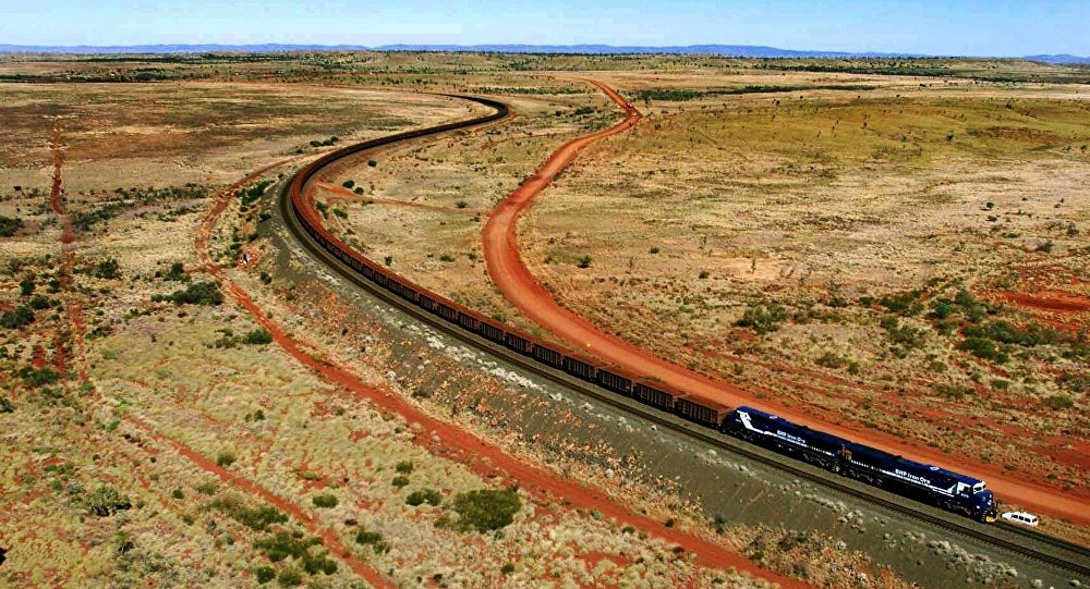 Train en Australie (photo d'illustration)