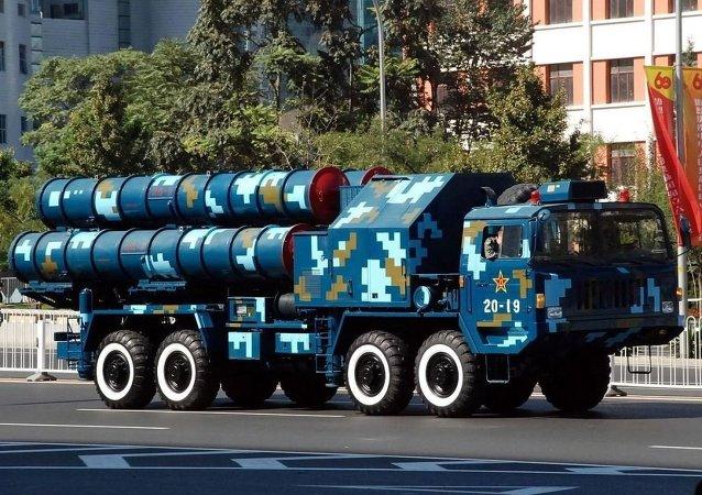 Un système antiaérien chinois HQ-9 (archive photo)