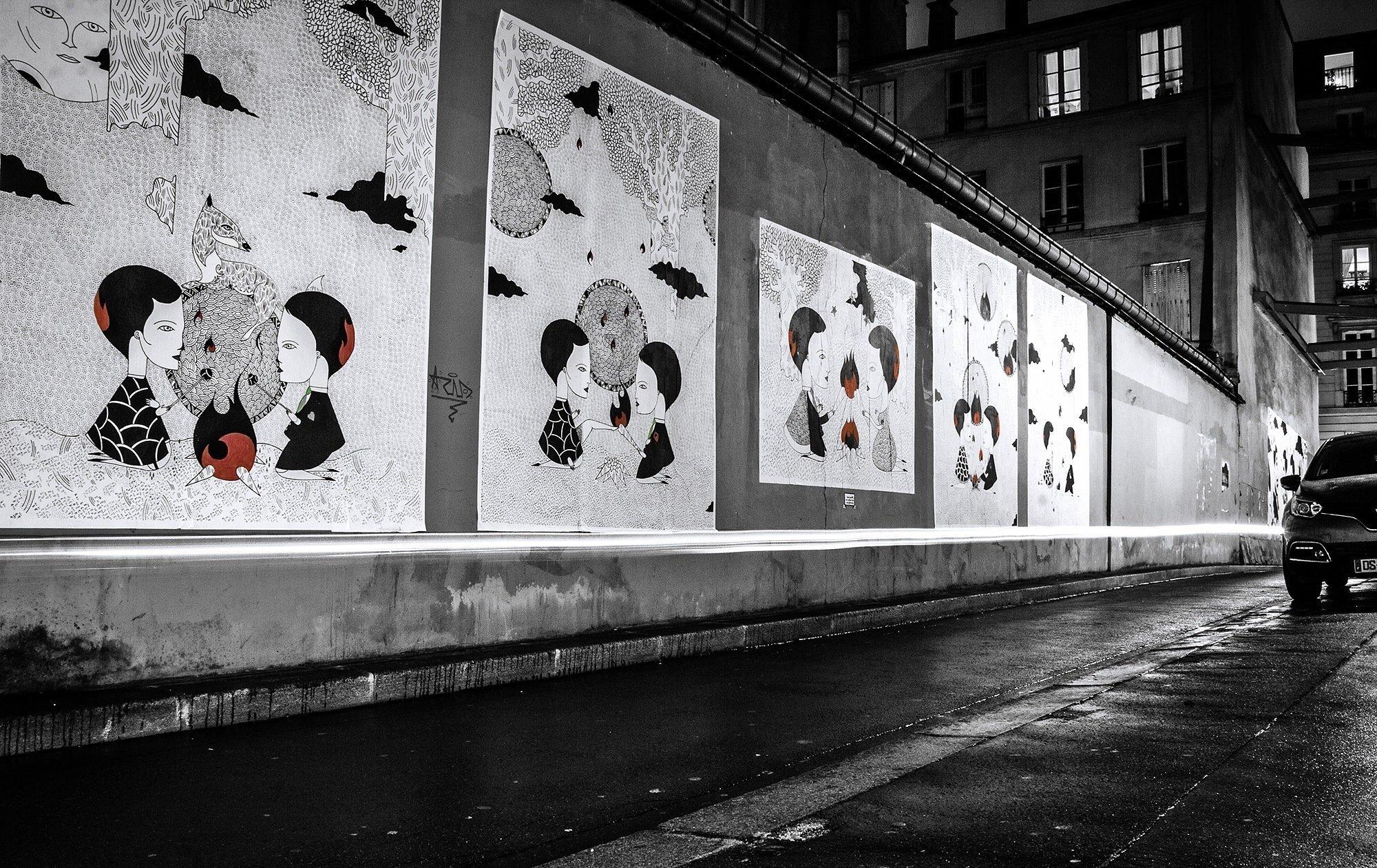 Street-art de Fred le Chevalier