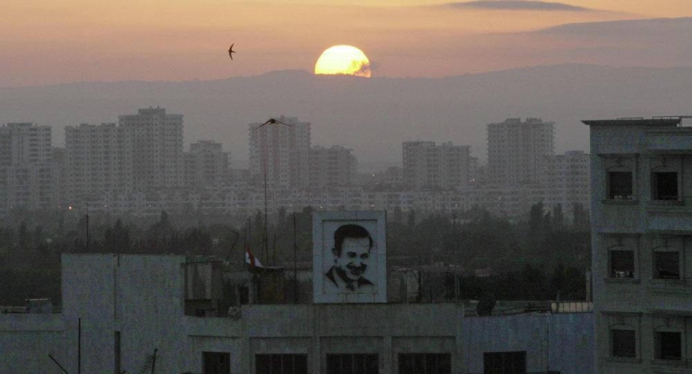 La ville d'Homs en Syrie